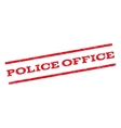 Police Office Watermark Stamp vector image vector image