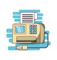 realistic printer cartoon vector image