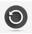 Repeat icon Refresh symbol Loop sign vector image vector image