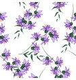 seamless floral hand drawn mix for fashion fabric vector image