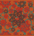 seamless pattern texture using indian arabian vector image vector image
