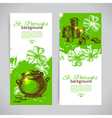 Set of St Patricks Day banners vector image vector image