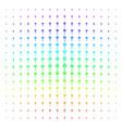 spotlight rack icon halftone spectrum effect vector image